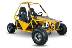 Kandi KD-200GKM-2A 200cc Off-Road 2-Seat Front Suspension 4-Wheeler Gas Go Kart Yellow New