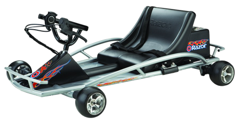 Razor Ground Force Up To 45 Minute Run Time 12 MPH Electric Go Kart Black New