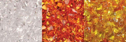 Amantii 3 Colors of Decorative Fire Glass Media - Hz-12-Ember New