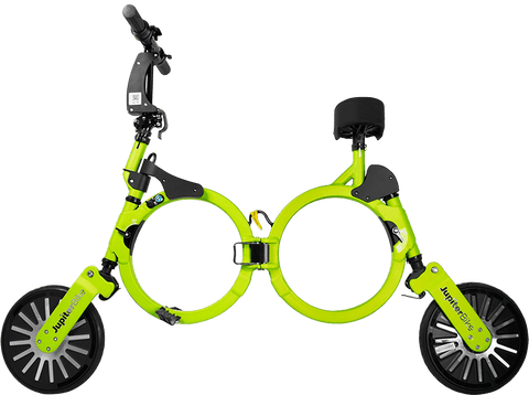 Jupiter Bike 123-GREEN Unisex 10 Inch 100V Lithium Ion Battery 240W Electric Folding Bicycle Titan Green New