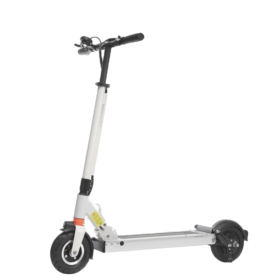 "Joyor F7 Up to 43.5 Mile Range 8"" Tires Electric Scooter White New"
