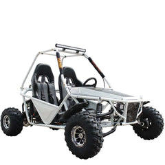 Kandi KD-200GKM-2A 200cc Off-Road 2-Seat Front Suspension 4-Wheeler Gas Go Kart White New