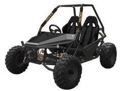 Kandi KD-200GKM-2A 200cc Off-Road 2-Seat Front Suspension 4-Wheeler Gas Go Kart Black New