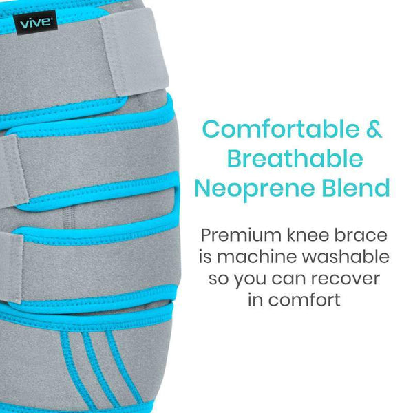 Vive Health Knee Ice Wrap Cold / Hot Gel Compression New