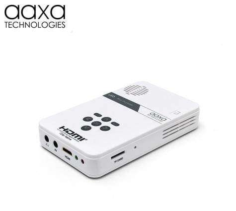 AAXA LED Pico Pocket Micro Mini Projector 25 Lumens New