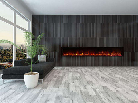 Modern Flames 100 Inch Landscape Full View 2 Series Electric Fireplace New
