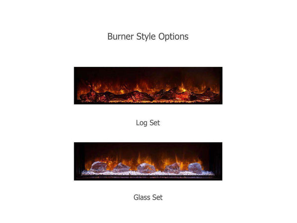 Modern Flames 120 Inch Landscape Full View 2 Series Electric Fireplace New