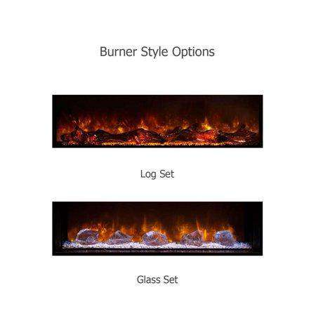 Modern Flames 80 Inch Landscape Full View 2 Series Electric Fireplace New