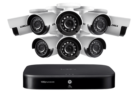 Lorex LX1081-88 8 Camera 8 Channel 1080P 1TB IP Security Surveillance System New