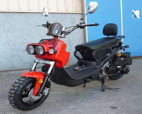Roketa MC-22Y-150 Sport Air-Cooled 150cc Engine Moped Scooter Street Legal Red New
