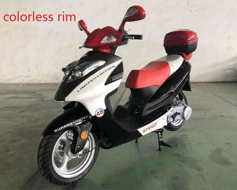 Roketa MC-23Y-150cc Automatic 4 Stroke Engine Moped Scooter Street Legal Red New