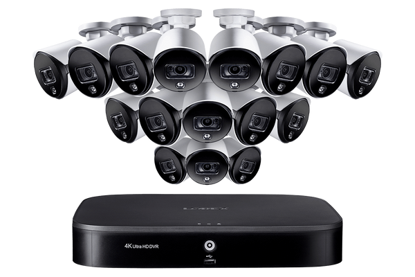 Lorex MPX0616W 16 Camera 16 Channel Indoor/Outdoor HD 1080P DVR Surveillance Security System New