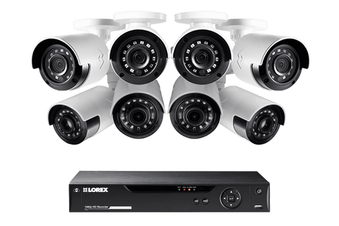 Lorex MPX88UW HD 1080P 8 Camera 8 Channel HD DVR Surveillance Security System New
