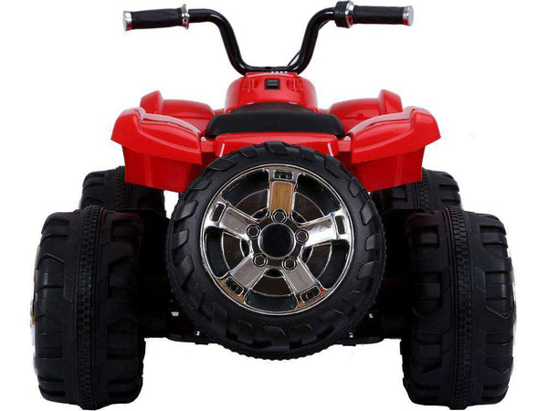 MotoTec MM-588-ATV-24v-Red Mini Moto 24 Volt Mini Electric Quad Battery-Powered ATV Red New