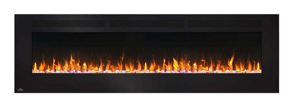 "Napoleon NEFL72FH 72"" Allure Linear Wall Mount Electric Fireplace New"