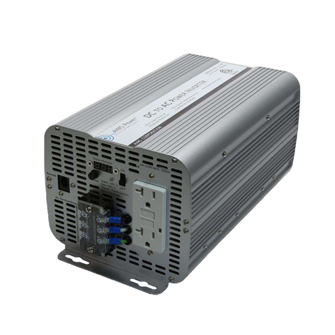 Aims Power PWRINV200012120W 2000 Watt Power Inverter GFCI ETL Listed Conforms to UL458 Standards New