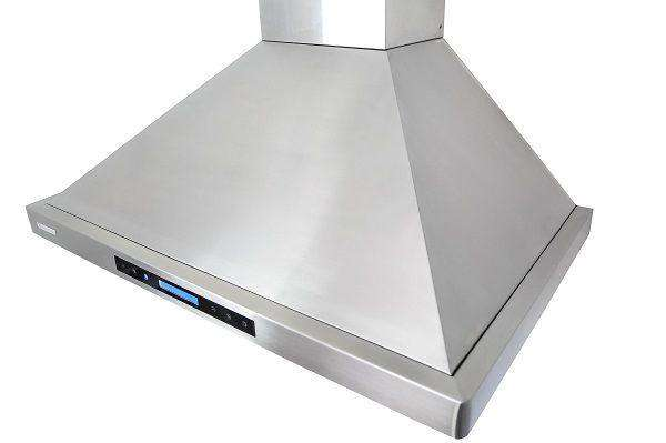 Xtreme Air USA PX15-W30 30 Inch 900 CFM LED Lights Stainless Steel Seamless Body Wall Mount Range Hood New