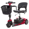 Vive Health MOB1025 3-Wheel Mobility Scooter Red New