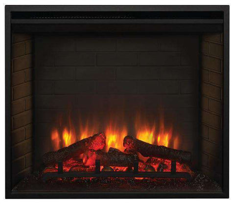 Hearth & Home SimpliFire SF-BI30-EB Built-In 30 Inch Electric LED Fireplace New