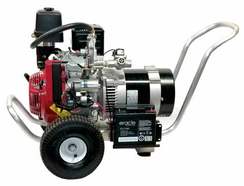 Smart Generators SG7000AA 7000W/12000W Electric Start Dual Fuel NG/LP Portable Generator With Honda Engine New
