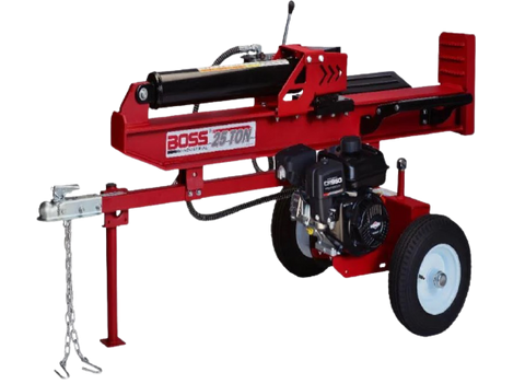 Boss Industrial WD27T Log Splitter 6.5 HP 4-Cycle Engine 27 Ton New