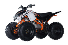 Ice Bear PAK150-2 Storm 150 Semi Automatic with reverse 150cc Atv White New