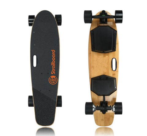 Strailboard V2 Pro 38 Inch Dual Motor Wheel Off Road Longboard Electric Skateboard New