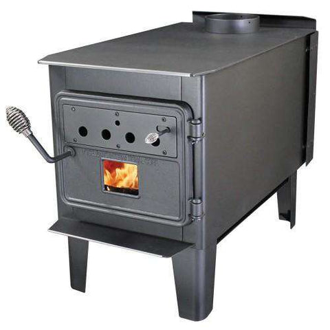 "Vogelzang TR008 1,500 sq. ft. EPA Certified Wood Stove 26"" With Blower New"