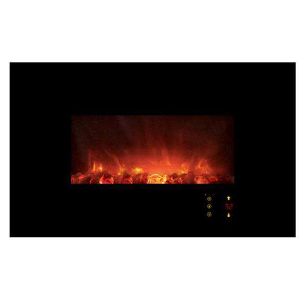 "Modern Flames Ambiance CLX2 45"" Electric Fireplace w/Black Glassface"