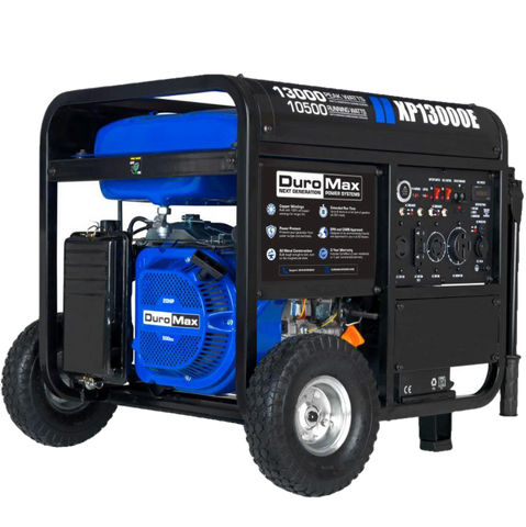 DuroMax XP13000E 10500W/13000W Gas Electric Start Generator New