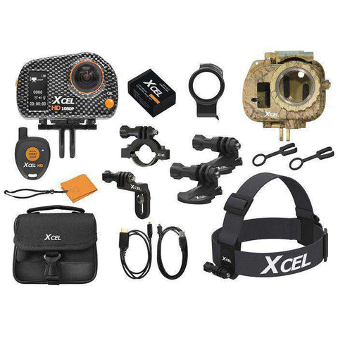 Xcel HD Hunting Edition Camera Carbon New