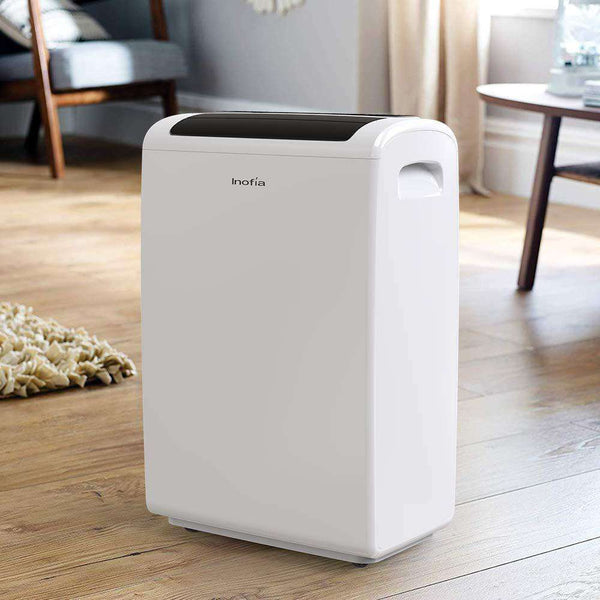 Inofia Inofia-002 Working Capacity 70 Pints Large Room/Basement Dehumidifier with Continuous Drain Outlet New