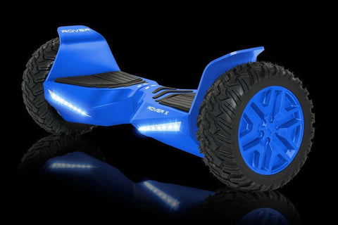 "Halo Rover X Electric Hoverboard Bluetooth 8.5"" Blue Manufacturer RFB"