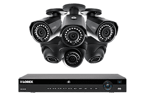 Lorex HDIP833W 6 Camera 8 Channel Weatherproof 2K IP Security Surveillance System New