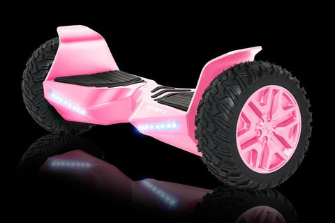 "Halo Rover X Electric Hoverboard Bluetooth 8.5"" Pink Manufacturer RFB"