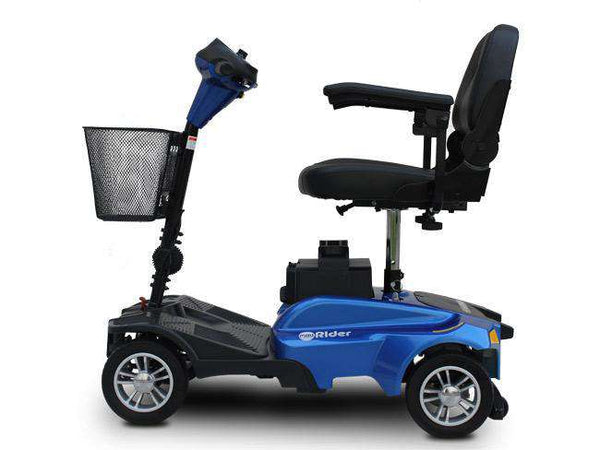 New EV Rider Minirider Scooter Blue with Armrests