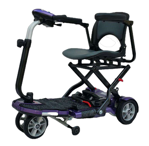 New EV Rider Transport Plus Folding Scooter Plum, Copper, Blue, or Burgundy