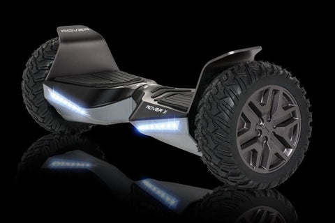 "Halo Rover X Electric Hoverboard Bluetooth 8.5"" Black Manufacturer RFB"