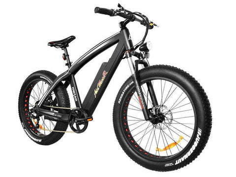 Addmotor MOTAN M-560 500 WATT 48V Front Suspension 26 inch Wheel Fat Tire Electric Bike Black New