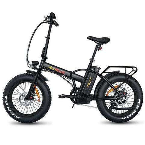 "Addmotor MOTAN M150 48V 500W 20"" Folding Electric Fat Tire Bike Black New"