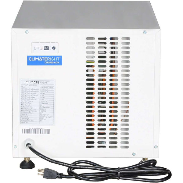 Climateright CR-2500-ACH Pet Small Area Air Conditioner/Heater - FactoryPure - 2