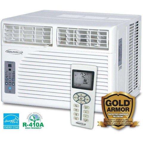 Soleus Air HCC-W08ES-A1 8000 BTU Window Air Conditioner - FactoryPure - 1