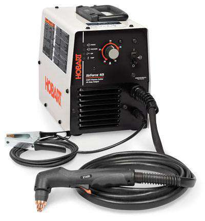 Hobart 500566 Airforce 40i 230V 50A Plasma Cutter and 8Kw Inverter with 12 Ft XTR40 Torch New
