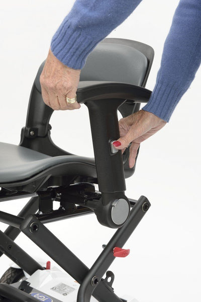 Adjustable Armrests for EV Rider Transport Plus Folding Scooter (can only be purchased with a scooter)
