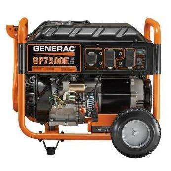 Generac GP7500E 7500W/9375W Generator Electric Start RFB