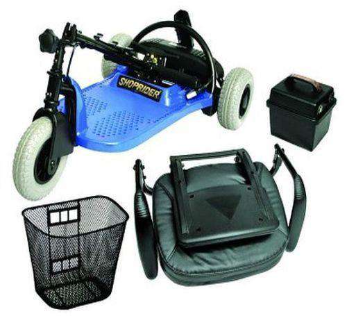 Shoprider ECHO 3-Wheel Mobility Scooter New Blue