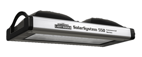 California Lightworks SolarSystem SS550 550 Full Spectrum LED Grow Light New
