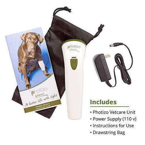 Photizo Vetcare Red and Infrared Animal Healing Light Therapy Laser New