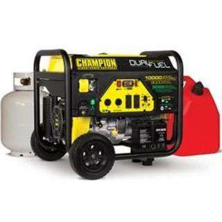 Champion 100297 8000W/10000W Electric Start Duel Fuel Generator New
