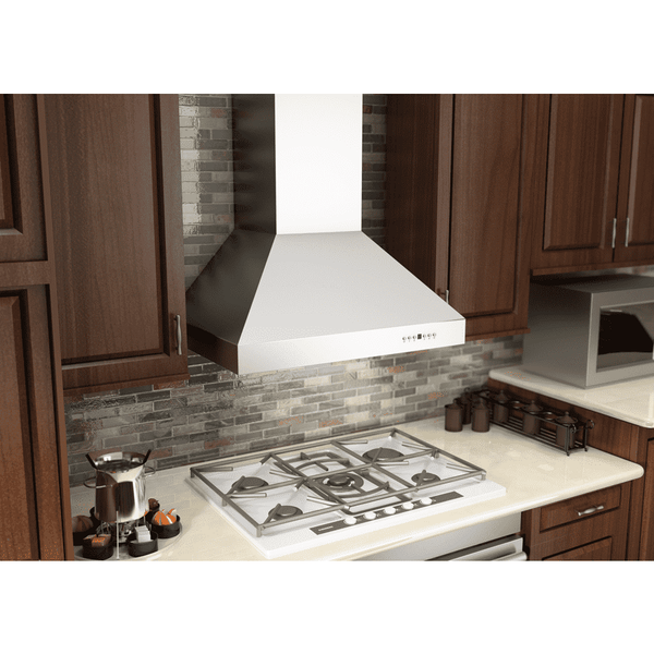 ZLINE 36 in. 1200 CFM Wall Mount Range Hood in Stainless Steel (667-36)